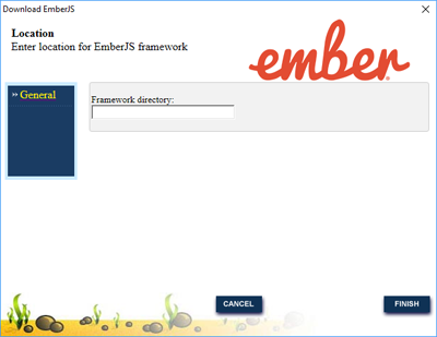 EmberJS framework download